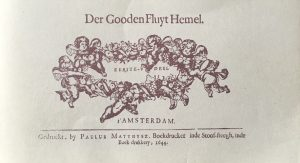 Der Goden Fluit-hemel. An anthology of music for 1, 2 and 3 soprano recorders (violins, etc), Amsterdam 1644. Facsimile edition with an introduction by Thiemo Wind. (Utrecht: Stimu, 1993)